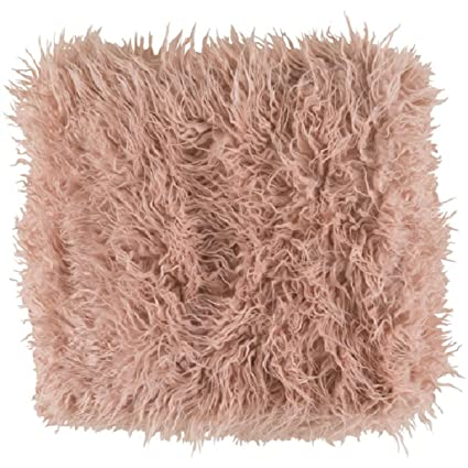 Amazon Diva At Home Kharaa Blush Pink Warm And Cozy Long Shag Awesome Blush Pink Throw Blanket