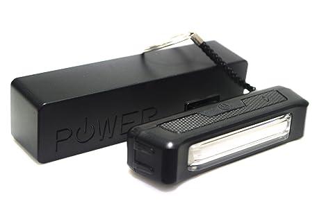 USB bicicleta luz con banco de la energía paquete delantero o ...