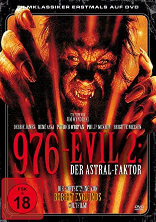 James Debbie Assa Rene Nielsen Brigitte 976 Evil 2 Der Astral Faktor 1 Dvd Amazon Co Uk Dvd Blu Ray 976-EVIL