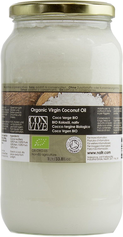 Aceite de Coco Ecológico, Nativo – speiseöl 1000 ml: Amazon ...