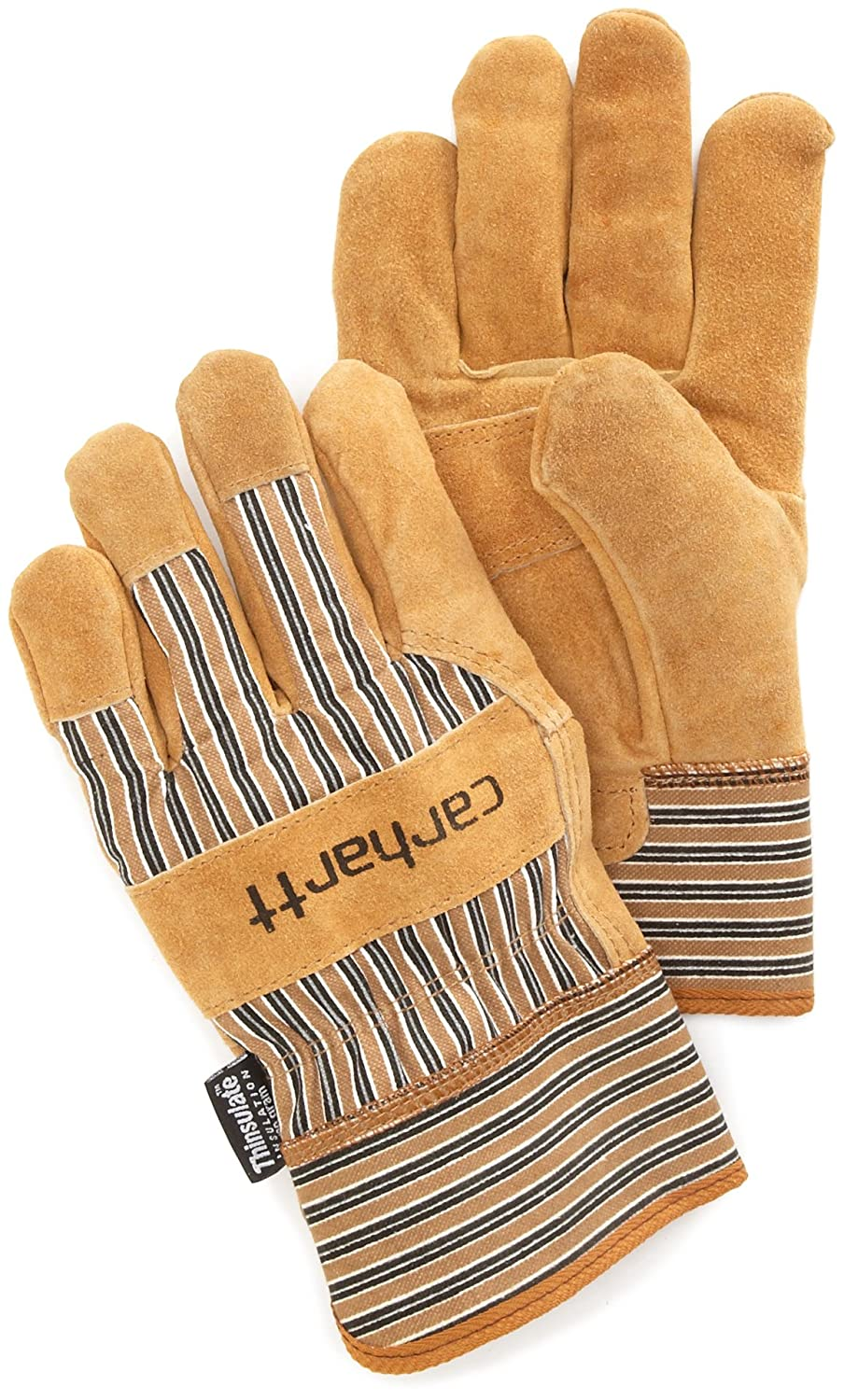 Carhartt Men's Insulated Suede Work Glove with Safety Cuff, Brown, XX-Large A515