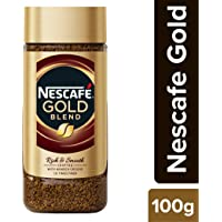 NESCAFÉ Gold Rich and Smooth Coffee Powder, 100g Glass Jar