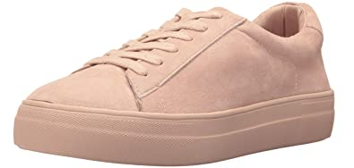 765965d311c Steve Madden Women's Gisela Pink Suede Sneaker 11 US: Buy Online at ...