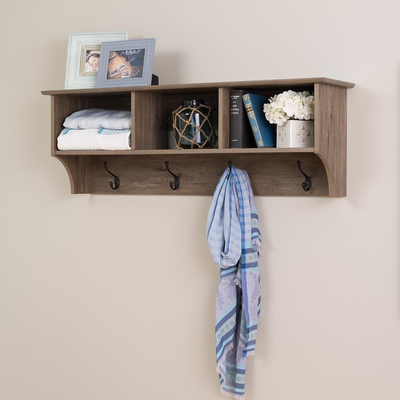 Amazoncom Prepac 48 Wide Hanging Entryway Shelf