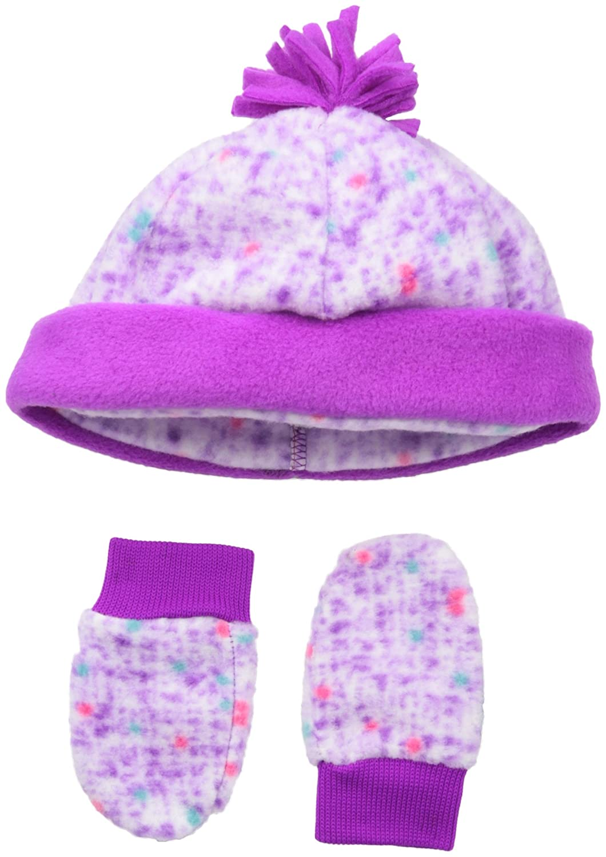 Amazon.com  Columbia Baby Boys  Infant Frosty Fleece Hat   Mitten ... 51909c9d25d
