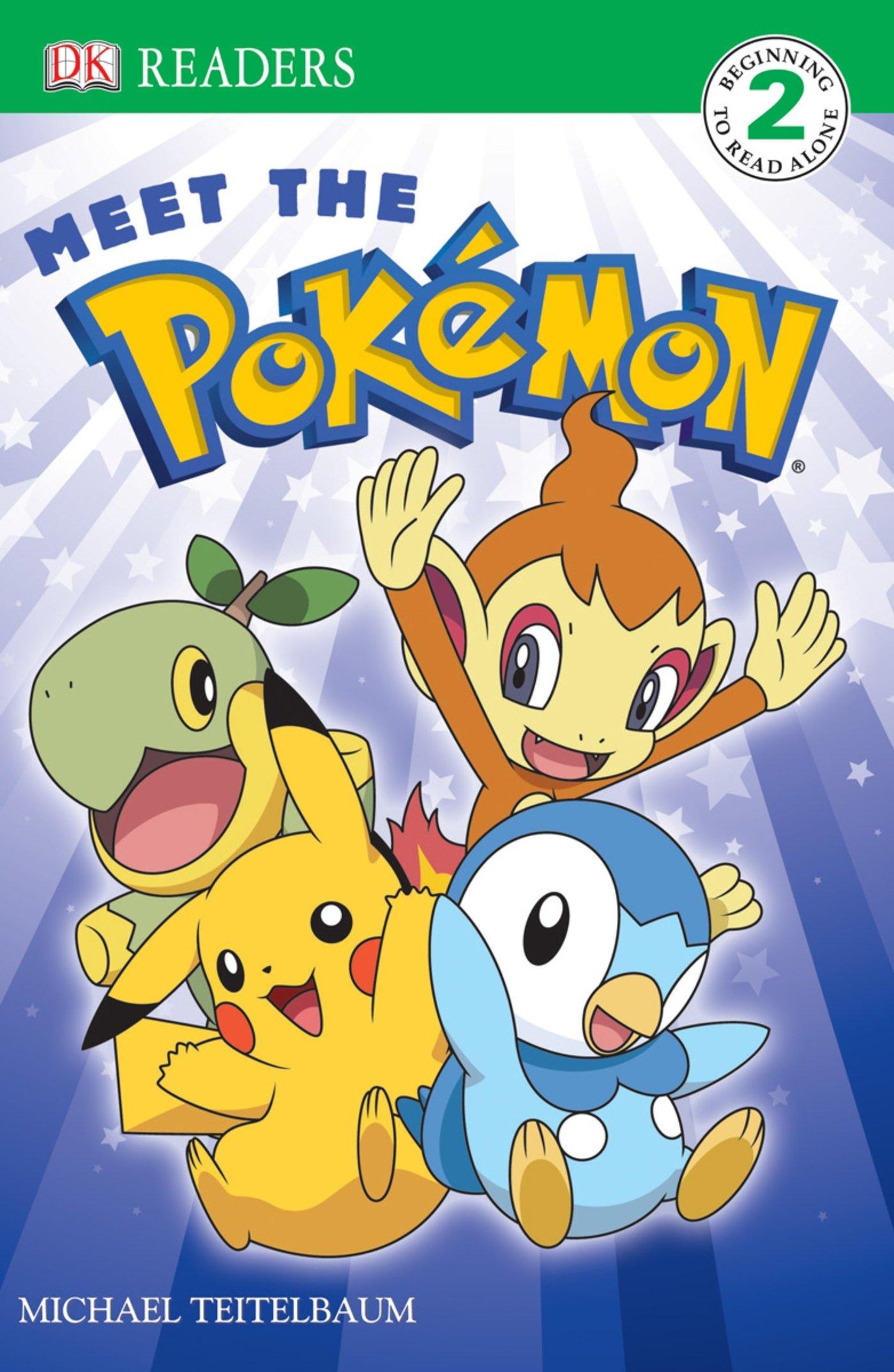 Meet the Pokemon (DK Readers, Level 2) ebook