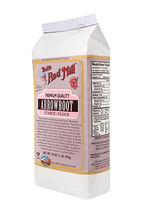 Bob's Red Mill Arrowroot Starch / Flour, 16-ounce