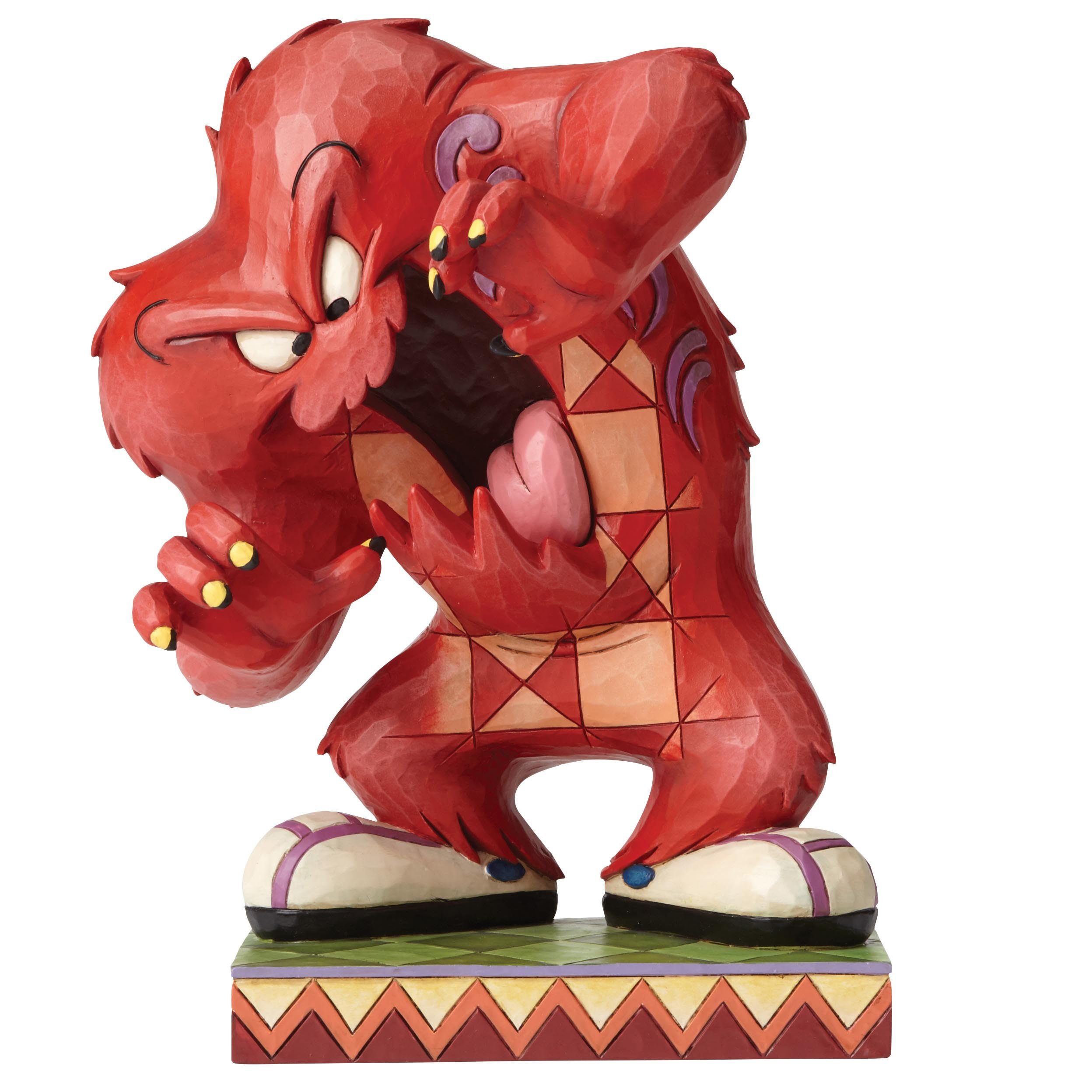 """Looney Tunes by Jim Shore """"A Hairy Situation - Gossamer"""" Figurine"""
