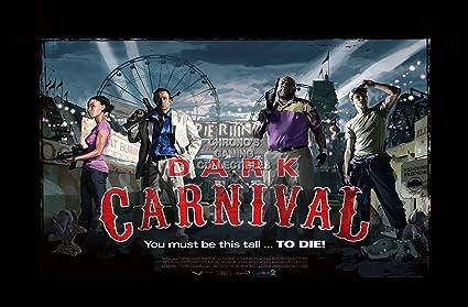 CGC Huge Poster - Left 4 Dead 2 Dark Carnival XBOX 360 PC - L4D004 (24