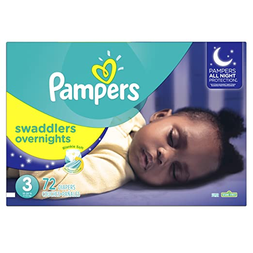 Pampers Swaddlers Overnights Disposable Diapers Review