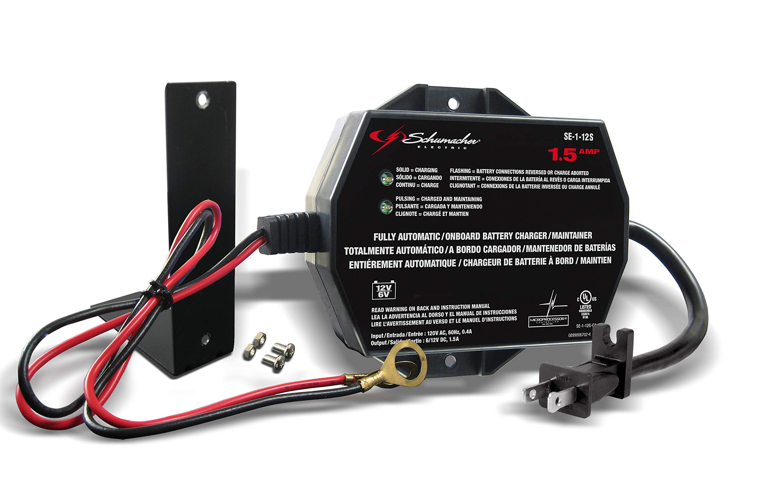 Prime Amazon Com Schumacher Sc1300 1 5A 6 12V Fully Automatic Battery Wiring Digital Resources Instshebarightsorg