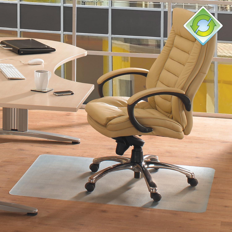 amazon com ecotex recycled pet chair mat for hard floors 48 x