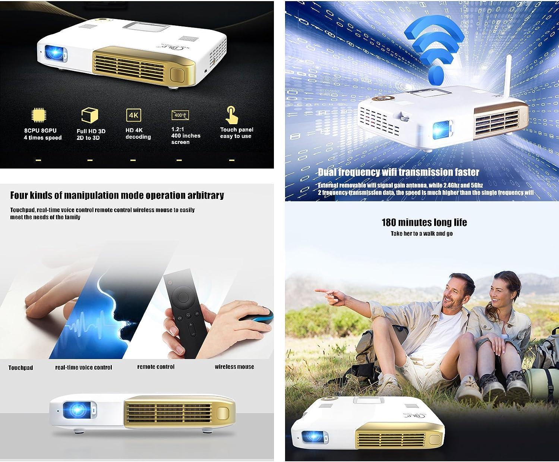Deeirao Smart Octa Core Android Home Theater Soporte de proyector ...