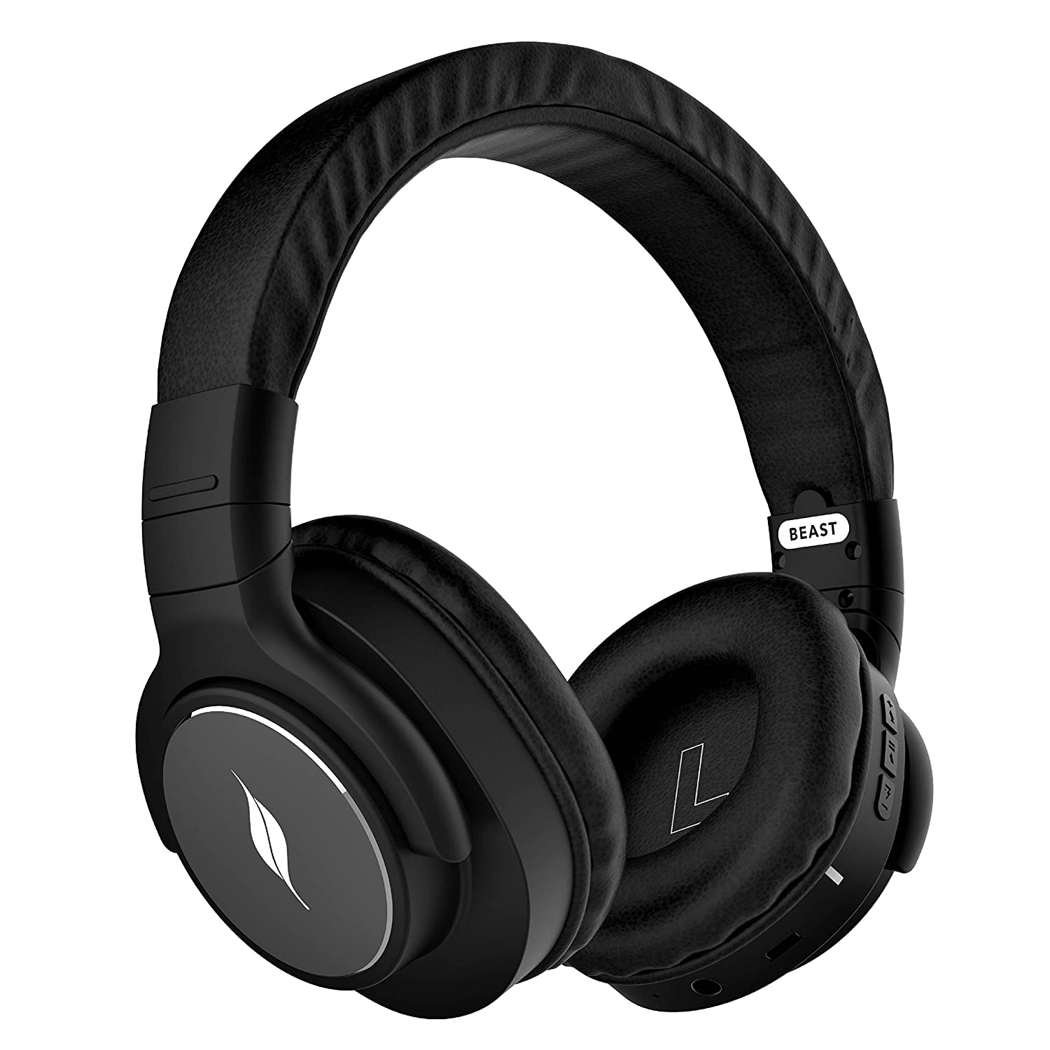 Leaf Bass 2 Wireless Headphones with Mic and 15 Hour Battery Life