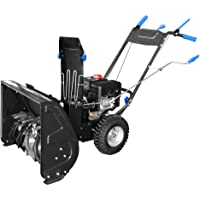 """AAVIX AGT1426 208cc 2-Stage Electric Start Self-Propelled Snow Blower, 26"""", Black"""