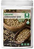 Organic Coriander Seeds (1lb) by Naturevibe Botanicals, Gluten-Free & Non-GMO (16 ounces)