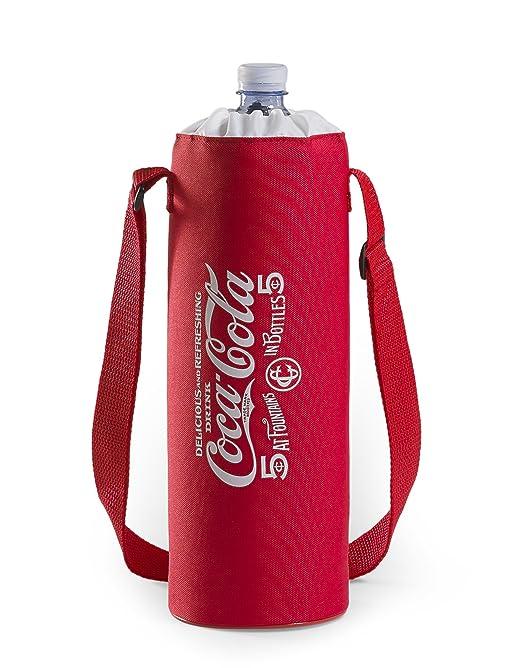 13 opinioni per Meliconi Coca Cola Porta Bottiglie Termico 1,5 Lt, 600D Pu, Rosso/Bianco,