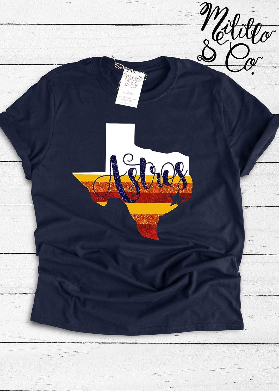 Astros Shirts >> Astros T Shirt Baseball Tee Womens Astros Shirt Houston Mlb Shirt Women Houston Top Womens Astros Tees Astros Shirt Houston Astros Fan Gift