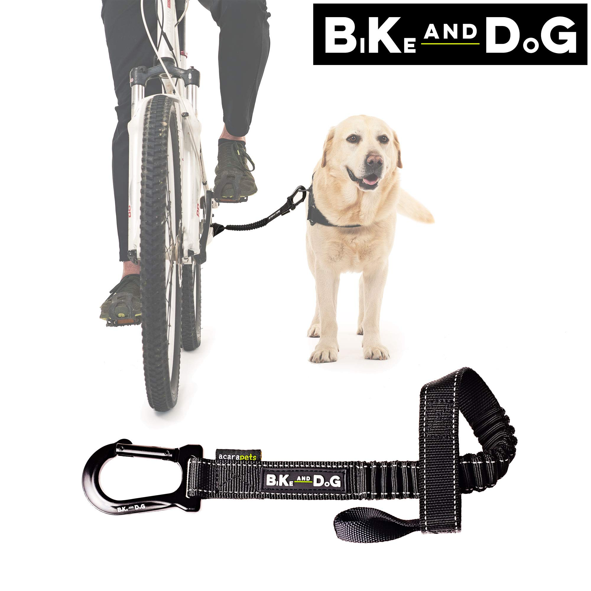 Dog Bike Leash: Designed to take one or More Dogs with a Bicycle. Patented Product.