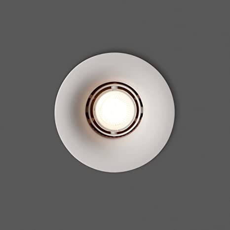 Faro Barcelona Neu 63286 - Empotrable, yeso, color blanco