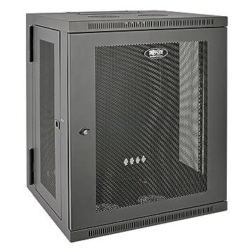 Amazon.com: Tripp Lite 15U Wall Mount Rack Enclosure Server ...