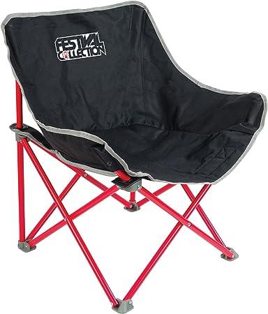 Coleman Chaise de Camping Festival Kickback, chaise pliante compacte et légère, structure en acier, Fauteuil Pliable, pour les festivals, la pêche, la