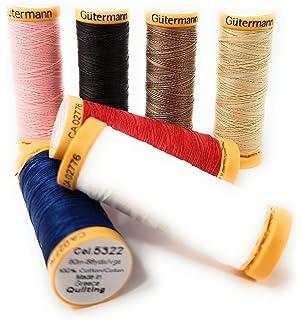 MEZ Cotton Stärke 50 4667050-09750 schwarz Nähgarn 1000m 100 % Baumwolle
