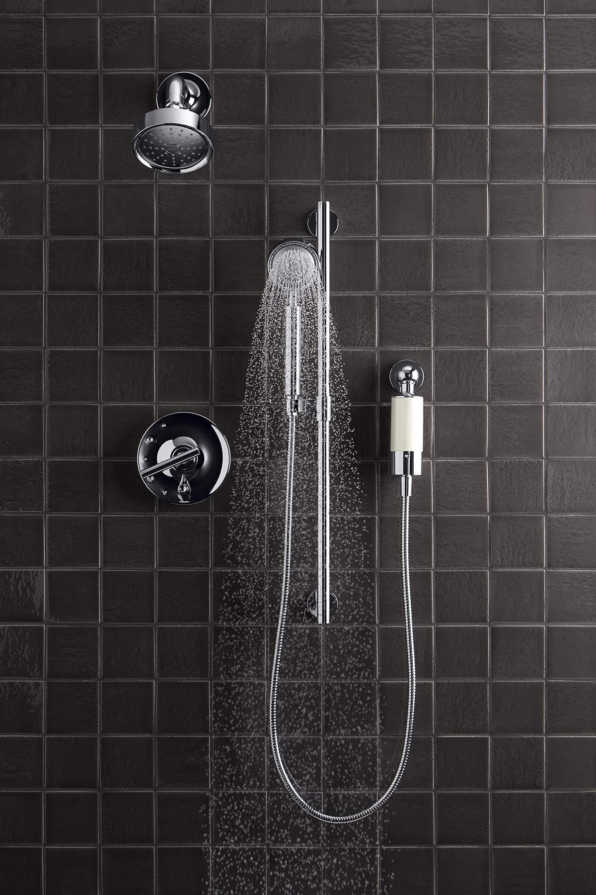 Kohler 30646-CP Aquifer Shower Water Filtration System, Reduce Chlorine and Odor, Includes Filter Replacement by Kohler (Image #4)