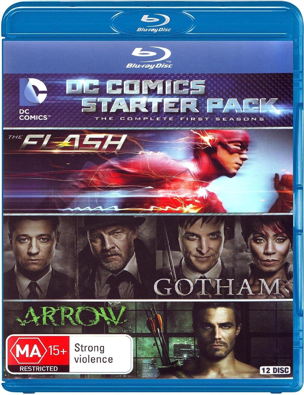 Dc Comics Starter Pack 12 Blu-Ray Edizione: Australlia Italia Blu ...