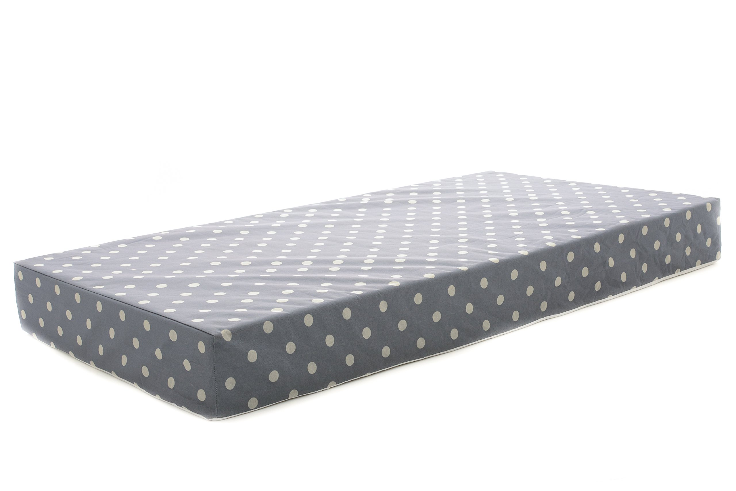 "Milliard Crib Mattress and Toddler Bed Mattress | Hypoallergenic + Waterproof Encasement | 27.5""x52""x5.5"""