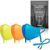 Kenneth Cole Neoprene Face Mask with Heiq V-block and Smart Temp - The Perfect Mask that Fits Your Active Lifestyle