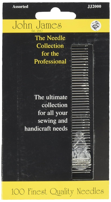 Assorted 100//Pkg John James Professional Needle Collection