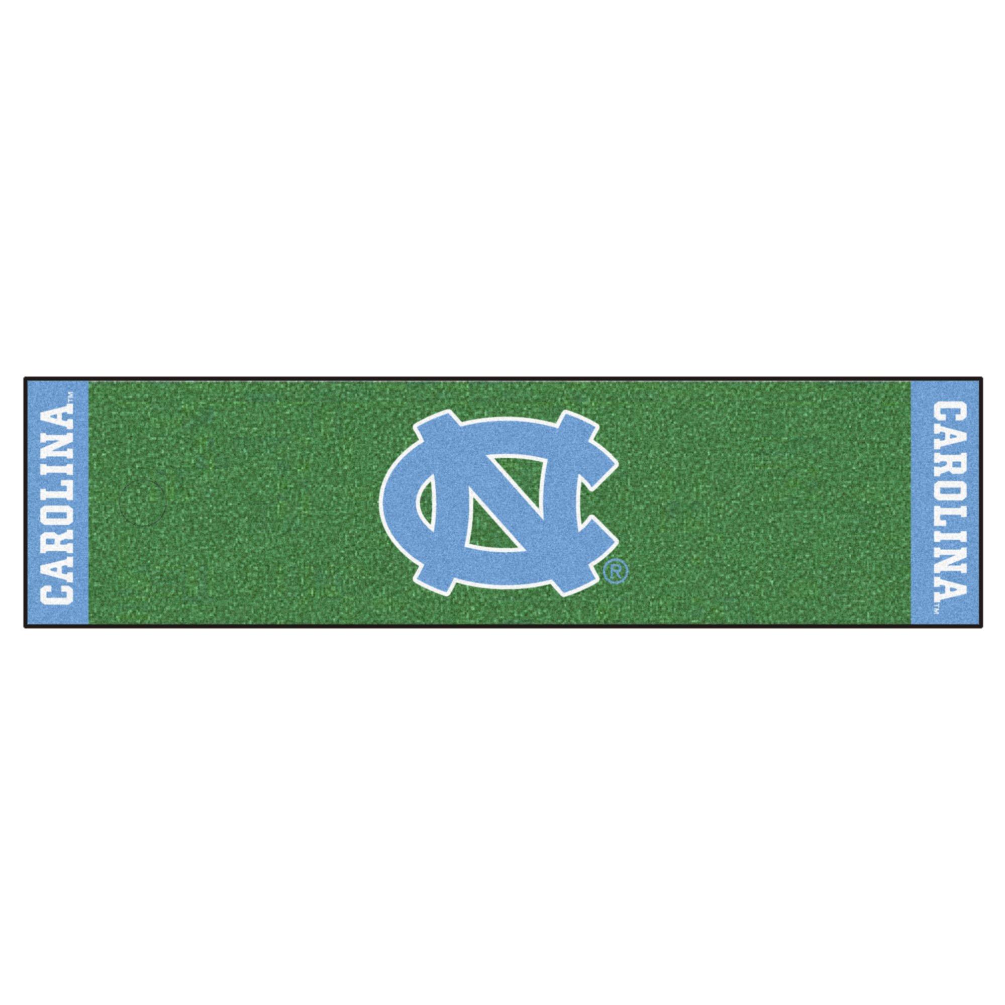 NCAA University of North Carolina - Chapel Hill Tar Heels Putting Green Mat Golf Accessory