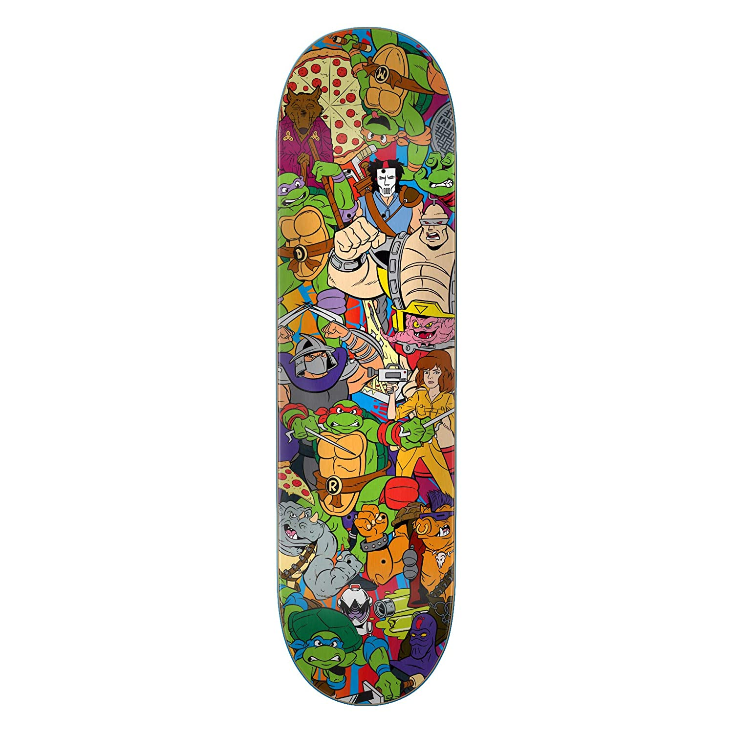 Amazon.com : Santa Cruz Skateboard Decks Teenage Mutant ...