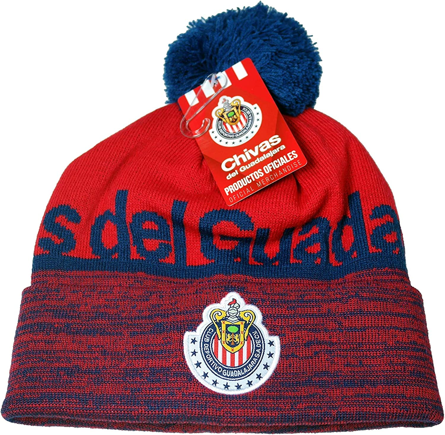 Chivas De Guadalajara Authentic Official Licensed Soccer Beanie