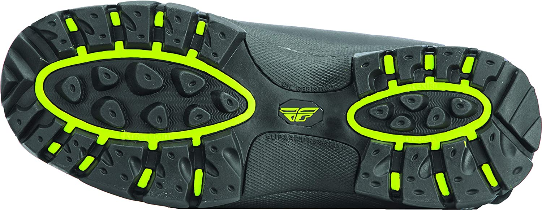 11 Black//Hi-Vis FLY SNOW Racing Marker Mens Snowmobile Boots
