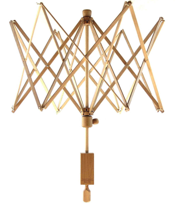 Stanwood Needlecraft Wooden Umbrella Swift Yarn Winder, Large Oriental Touch LLC YW-2