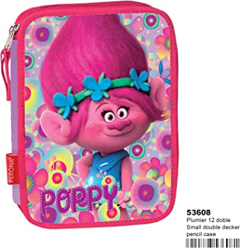 TROLLS- Plumier, Color Rosa (Perona 53608): Amazon.es: Juguetes y juegos