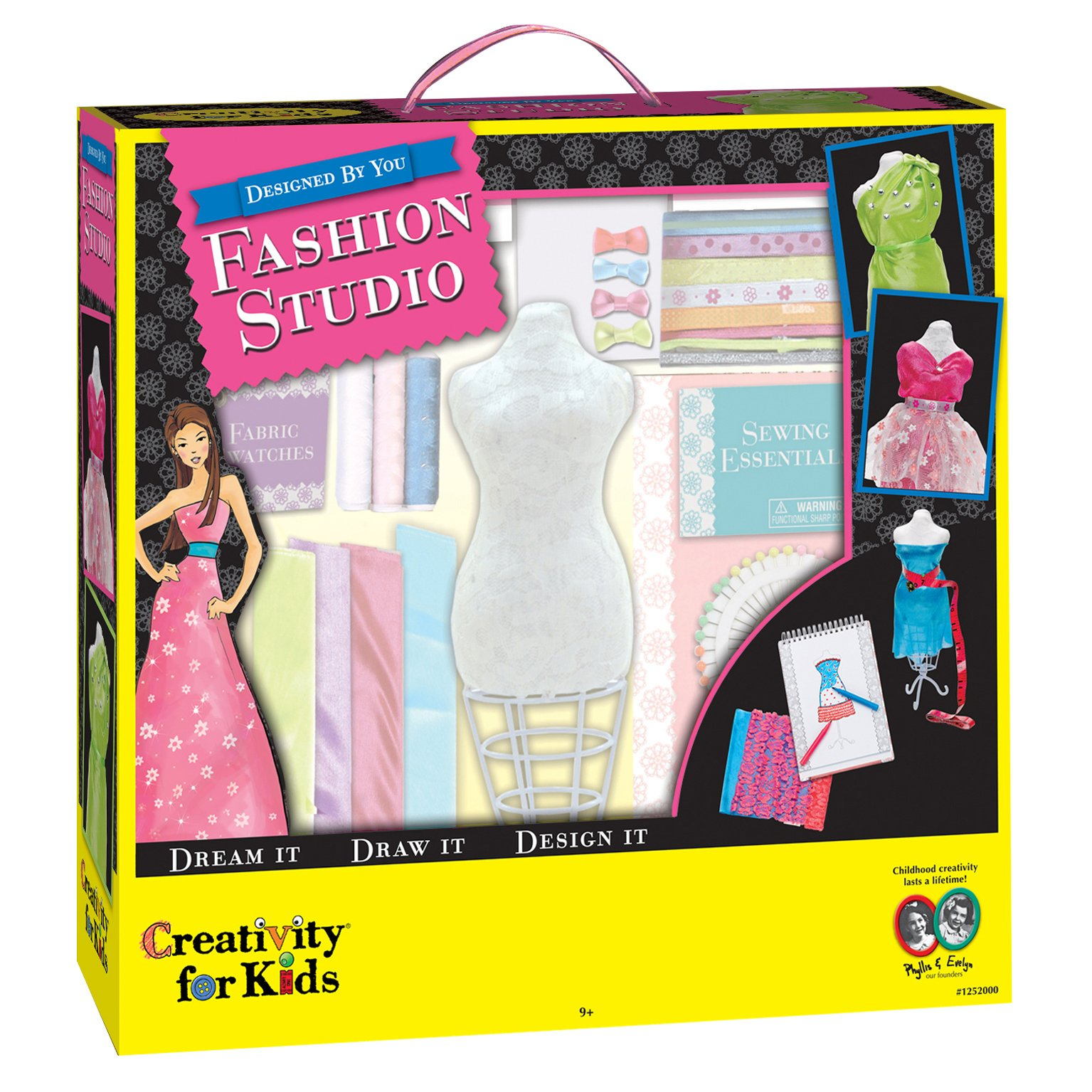 Creativity For Kids Designed By You Fashion Studio Fashion Design Kit For Kids 92633125205 Ebay