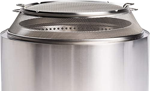 Solo Stove Stainless Steel Yukon Fire Pit Spark Screen