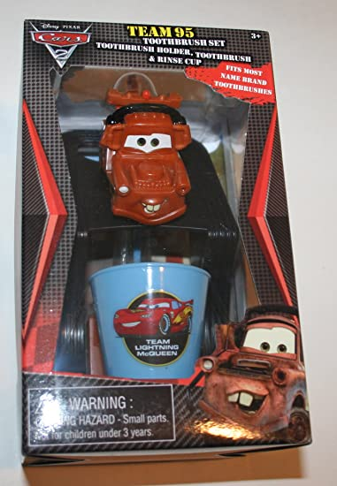 Attractive Cars 2 Team 95 Tow Mater Toothbrush Set, Toothbrush Holder, Toothbrush,  Rinse Cup Good Ideas