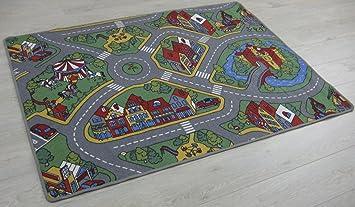 Tappeti Colorati Per Camerette : Tappeto per cameretta bambino tappeto gioco raduno in vari