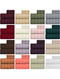 Amazon Com Fitted Sheets Home Amp Kitchen