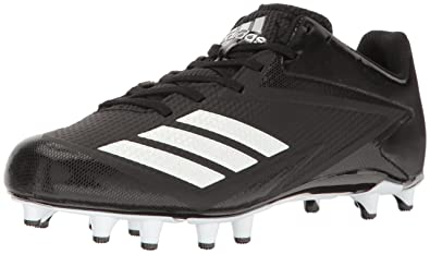 hot sale online d1800 bb04c adidas Men s Freak X Carbon Mid Football Shoe, Black White Metallic Silver,