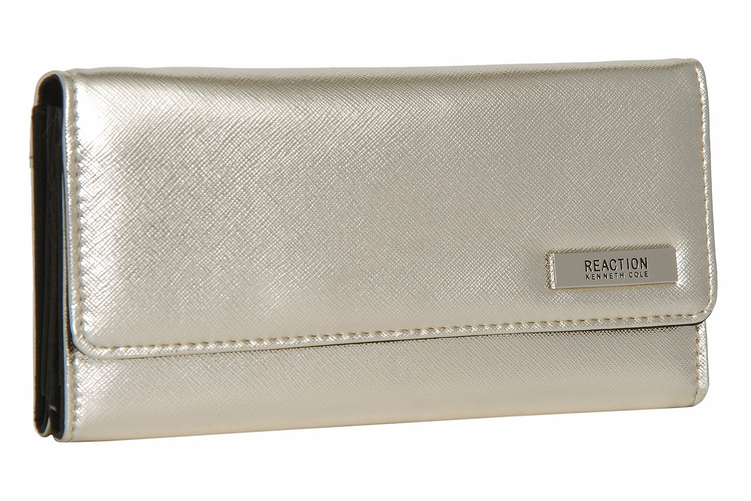 Kenneth Cole Reaction Never Let Go Trifold Flap Clutch Marina ONE SIZE
