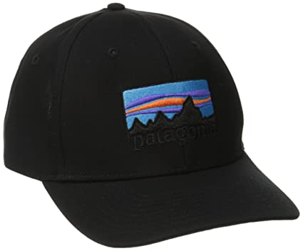 489507b8e32 Image Unavailable. Image not available for. Color  Patagonia Hat Roger That  Adult One Size 73  Logo Black