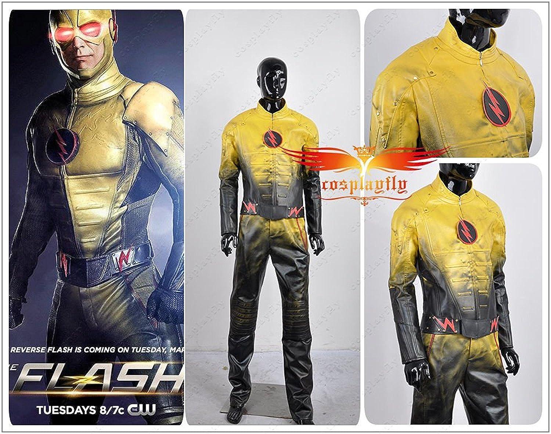 La Reverse flash eobard Thawne battleframe sintética traje ...