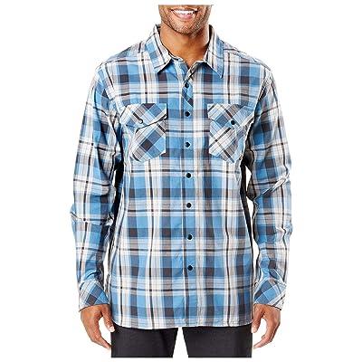 5.1100000000000003 Peak L/s Shirt Diplomat Plaid, X-Large: Sports & Outdoors