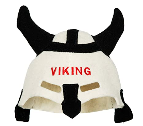 Natural Textile Gorro de Sauna Sauna Viking Blanc ...