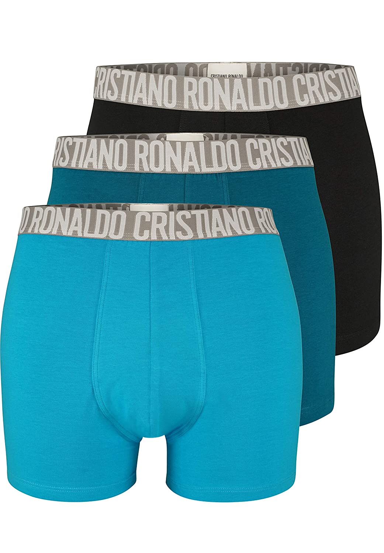 db894dd55e CR7 Cristiano Ronaldo Basic Boxershorts Men 3-Pack (CR7-8100-4900)  CR7   Amazon.co.uk  Clothing